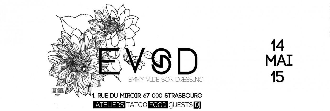 EVSD vide dressing à Strasbourg les 14 et 15 mai